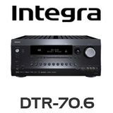 Integra DTR-70.6 9.2-Channel Dolby Atmos Ready Network A/V Receiver