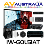 Sonance Atmos In-Wall with Integra DRX-4, Epson TW9200 Home Theatre Package