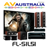 KEF Floor Standing with Onkyo TX-NR656, Epson TW6700 Home Theatre Package
