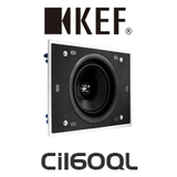 "KEF Ci Series Ci160QL 6.5"" Rectangle In-Wall / In-Ceiling Speaker (Each)"