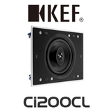 "KEF Ci Series Ci200CL 8"" Rectangle In-Wall / In-Ceiling Speaker (Each)"
