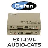 Gefen EXT-DVI-AUDIO-CAT5 DVI Audio Extender (up to 60m)