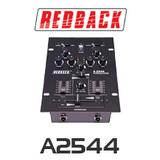 Redback 2 Channel 4 Input DJ Mixer