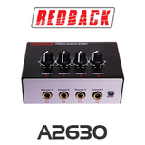 Redback 4 Channel Headphone Distribution Amplifier