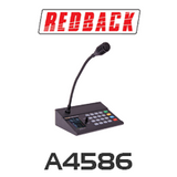 Redback Paging Console to suit AT-A4585