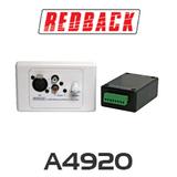 Redback Pre Amplifier Balanced Mic / Line Wallplate