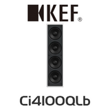KEF Ci4100QLb Ultra Thin Bezel In-Wall Subwoofer (Each)