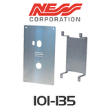 NESS Stainless Steel Faceplate to suit Smartbell 101-131B Door Station