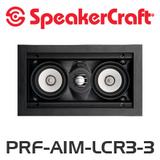SpeakerCraft Profile AIM LCR3 Three In-Wall Speaker (Each)