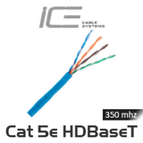 ICE Cat 5e HDBaseT Certified 305M Cable Box - Blue