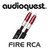 AudioQuest Elements Series Fire RCA Analog-Audio Interconnects