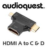 AudioQuest HDMI A to C & D Adapter