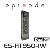 "Episode 900 Series Dual 7"" In-Wall Home Theatre Speaker (Each)"