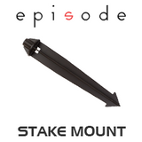 "Episode 12"" Stake Mount for Landscape Satellite Speakers"