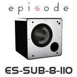 "Episode 8"" 110w Ported Powered Subwoofer"