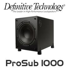 definitive technology prosub 1000 manual