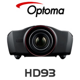 Optoma HD93 Super LED 3D Home Theatre Projector