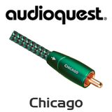 AudioQuest Chicago RCA Male Interconnect Cable (Pair)
