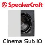 SpeakerCraft Profile Cinema Sub 10 In-Wall Subwoofer