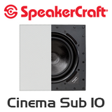 SpeakerCraft Profile Cinema Sub 10 In-Wall Subwoofer
