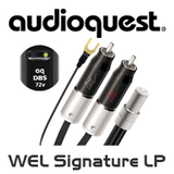 AudioQuest WEL Signature LP Tonearm Cable (JIS to RCA / XLR)