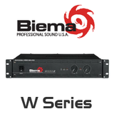Biema W Series 8 Ohm Power Amplifier