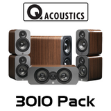 Q Acoustics 3000 Series 3010 5.1 Home Theatre Cinema Pack