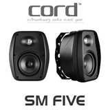 Cord SM FIVE 2-Way Weather Proof Outdoor Speakers (Pair)