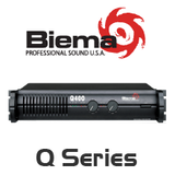 Biema Q Series 8 Ohm Power Amplifier