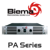 Biema PA Series 8 Ohm Power Amplifier