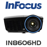 InFocus IN8606HD Full 3D 1080P Home Theatre Projector