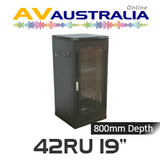 "AVA 42RU 19"" Freestanding Rack System - 800mm Deep"