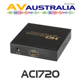 AVA AC1720 HDMI to AV Composite Converter with Stereo Audio