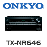 Onkyo TX-NR646 7.2-Channel DTS:X Ready Network A/V Receiver