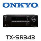 Onkyo TX-SR343 5.1 Channel AV 4K-Ready Receiver