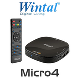 Wintal Micro4 1080p HD Multi Media Player With Wireless Streaming