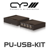 CYP PU-USB-KIT USB 2.0 Extender Kit over Single CAT5e/6 (100m)