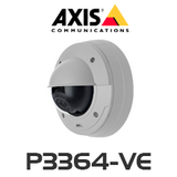AXIS P3364-VE HD Focus & Zoom Fixed Dome Outdoor IP Camera