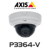 AXIS P3364-V HD Focus & Zoom Fixed Dome IP Camera