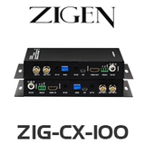 Zigen ZIG-CX-100 HDMI Extender Over Coaxial Cable (100M)
