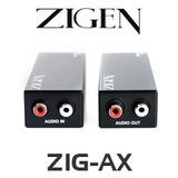 Zigen ZIG-AX Long Range Active Line Level Audio Extender (300m)