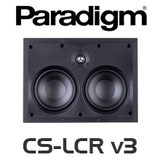 "Paradigm CS-LCR v3 Dual 5.5"" Bezel Free 2-Way In-Wall LRC Speakers (Each)"