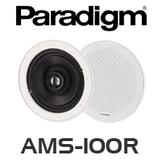 "Paradigm AMS-100R 6.5"" Low Profile Bezel In-Ceiling Speakers (Pair)"