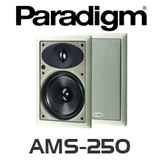 "Paradigm AMS-250 6.5"" In-Wall Rectangular Speakers (Pair)"