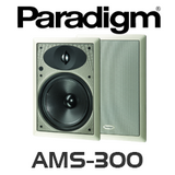 "Paradigm AMS-300 8"" In-Wall Rectangular Speakers (Pair)"