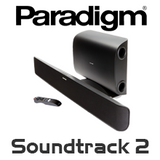 Paradigm Soundtrack 2 Powered Soundbar & Wireless Subwoofer System