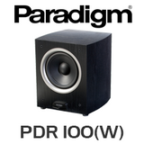 """Paradigm PDR 100 10"""" 120W Subwoofer (Wireless Optional)"""