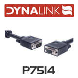 Dynalink Filtered VGA Lead Male-Female 5m
