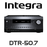 Integra DTR-50.7 7.2-Channel THX, DTS:X & Dolby Atmos Ready Network A/V Receiver