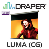 Draper XH800E Luma Manual Projection Screen (Contrast Grey)